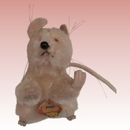 Steiff Pieps Mouse, Chest Tag, 1965 to 1969