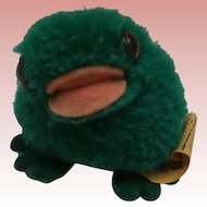 Steiff Smallest Size Wool Frog , 1972 to 1984