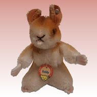 Steiff  Goldy  Hamster , Steiff Button and Chest Tag 1965 to 1967