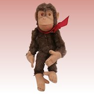 Sweet Steiff Jocko Monkey, No Id's 1959 to 1964