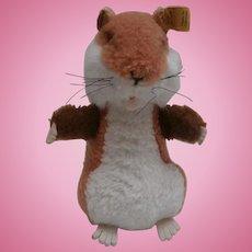 Steiff Goldy  Hamster,  1975 to 1984, Steiff Button
