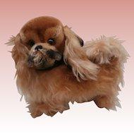Larger Size Steiff Peky Pekinese Dog, No Id's 1959 to 1964