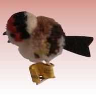 Steiff Tiny Wool Bird  1959 to 1964, Steiff Button