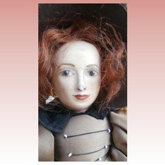 Unusual Old English Vintage Doll