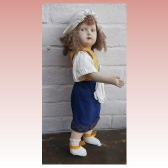 Anika,Early Lenci Type Felt Doll