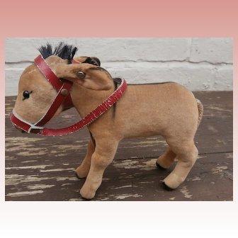 Steiff Donkey , 1959 to 1964, Steiff Button,Steiff Chest Label