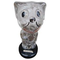 Vintage Felix The Cat Perfume Bottle, Carnation