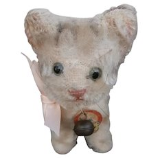 Vintage Smallest Steiff  Susi Pussy Cat, Chest Tag, 1959 to 1964