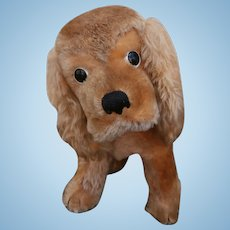 Larger Steiff Revue Susie Cocker Spaniel Dog, No I'd's, 1965 to 1975