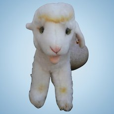 Steiff Cosy Lamby Lamb, Steiff Button 1968 to 1978