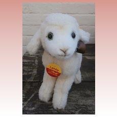 Steiff Lamby. 1911 to 1997, Steiff Button, Chest tag