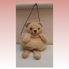 Rare Chilid's  Vintage Teddy Bear Muff, Zotty Type