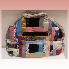 Vintage Hand Made Patchwork Tea Cosy, Tea Pot Cover