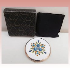 Vintage Stratton Powder Compact with Box