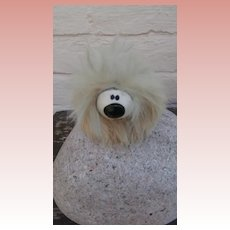 Small  Vintage Fur Dougal from The Magic Roundabout,