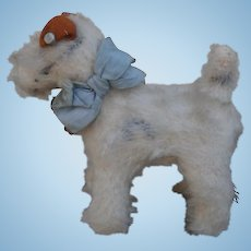 Foxy, Fox Terrier Dog , 1959 to 1967, Steiff Button, Chest Tag