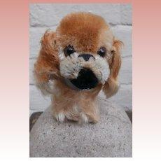 Steiff Peky Pekingese Dog, 1965 to 1976, Steiff Button