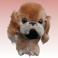 Steiff Peky Pekingese Dog, 1965 to 1976, Steiff Button