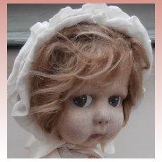 Gorgeous Anna,  Early Lenci Type Felt Doll
