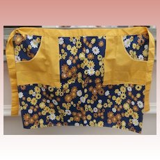 Vintage Ladies Apron, Made by Prova, British Made