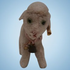 Steiff Smallest Size Lamby Lamb, Steiff Button and Chest Tag, 1959 to 1967