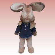 Vintage Benjamin Bunny Rabbit, Large