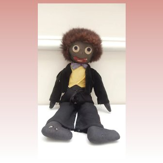 Poor Old Golly, Golliwogg, Black  Doll