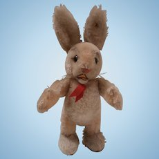 Steiff Easter Rabbit, 1967 to 1969 Steiff Button