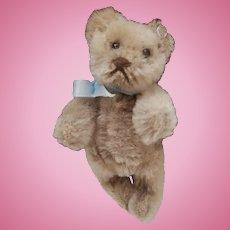 Parker, Vintage Steiff Miniature Original Teddy Bear, Steiff Button