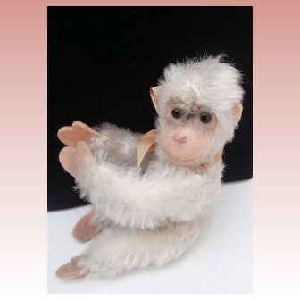 Sweet MIniature Steiff Jocko Monkey, No Id's