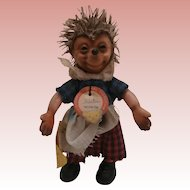 Steiff Miniature Girl Micki, 1961 to 1964, All Id's