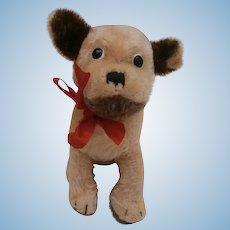 Vintage Steiff Mopsy Dog, No Id's
