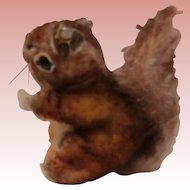 Steiff Small Size Perri Squirrel, Steiff Button. A/F
