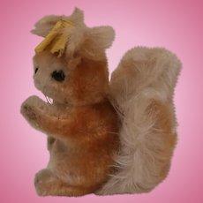 Steiff Possy Squirrel, 1959 to 1964, Steiff Button