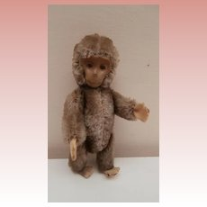 Well Loved  Vintage Schuco Yes / No Monkey