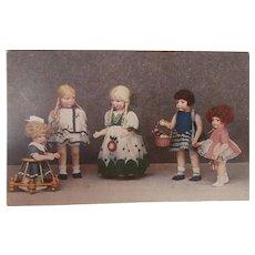 Rare Cloth  Dolls Bambole Lena 1928