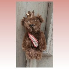 Vintage Schuco Miniature Brown Berlin Teddy Bear