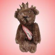 Vintage Schuco Miniature Brown Berlin Teddy Bear