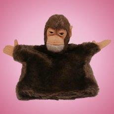 Steiff Vintage Jocko Monkey Puppet, No Id's