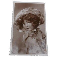 Gorgeous  Lenci / Lenci Type Cloth Doll Postcard 1935