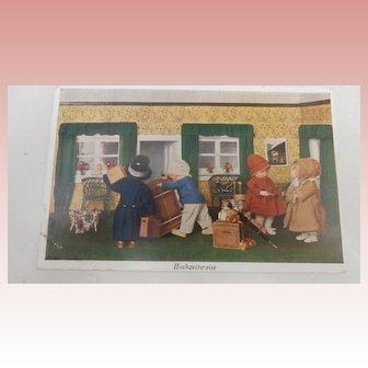 Kathe Kruse Postcard 1929