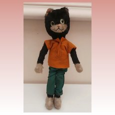 Vintage Schuco Bigo Bello  Comical Cat, No Id's