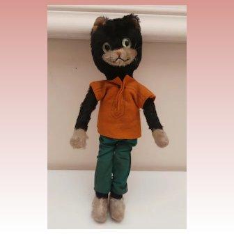 Vintage Schuco Bigo Bello  Comical Cat, No Id's