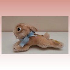 Steiff Lying Rabbit 1968 to 1970, Chest Tag