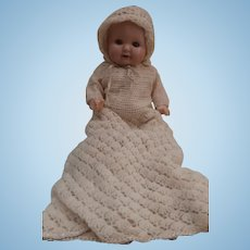 Vintage Composition Baby Doll Marked  ' Jubilee' H.W
