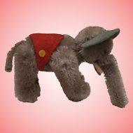 Vintage Schuco Miniature Elephant, Noahs Ark Series