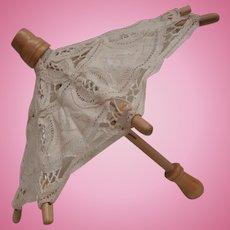 Sweet Lace Doll or Teddy Parasol / Umbrella