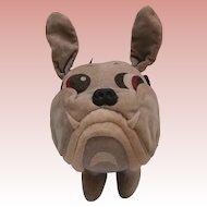 Unusual Vintage Bull Dog, Lilac