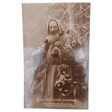 Early Santa Postcard, Boys Toys