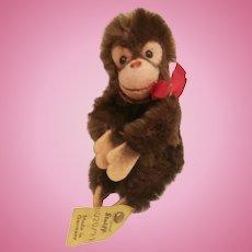 Steiff Flexible Steiff Jocko Monkey, 1978 to 1980